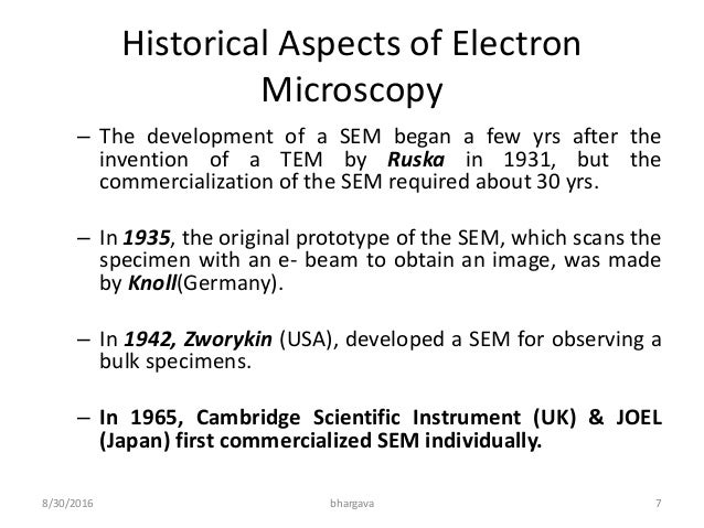 scanning electron microscope enfo