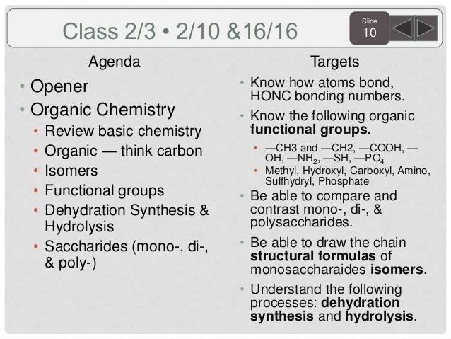 Sem.2 biology agenda and targets 2016.short