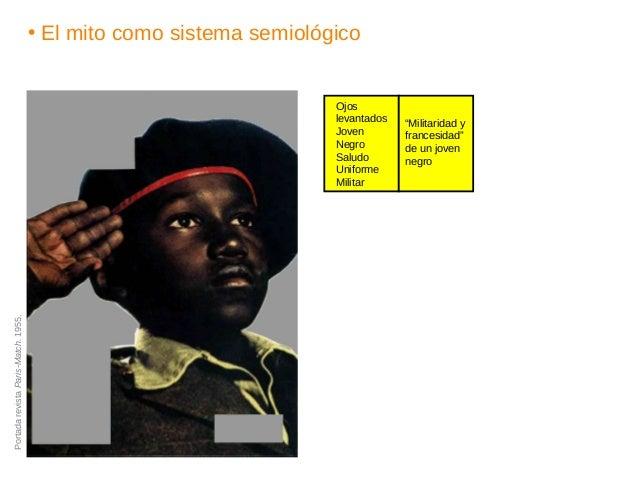 """• El mito como sistema semiológico """"Militaridad y francesidad"""" de un joven negro Ojos levantados Joven Negro Saludo Unifor..."""