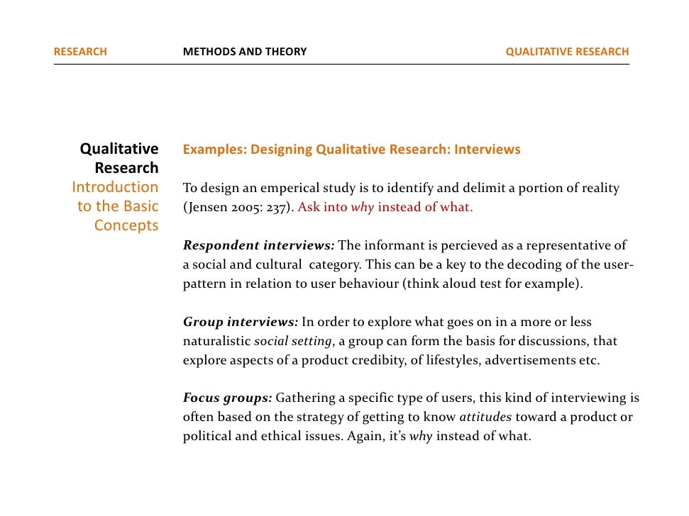 example of qualitative research paper Free qualitative papers, essays, and research papers a destination for learning & discovery.