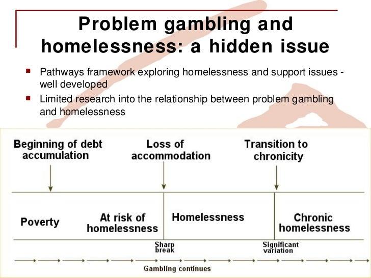 Problem gambling homelessness hard rock casino front door