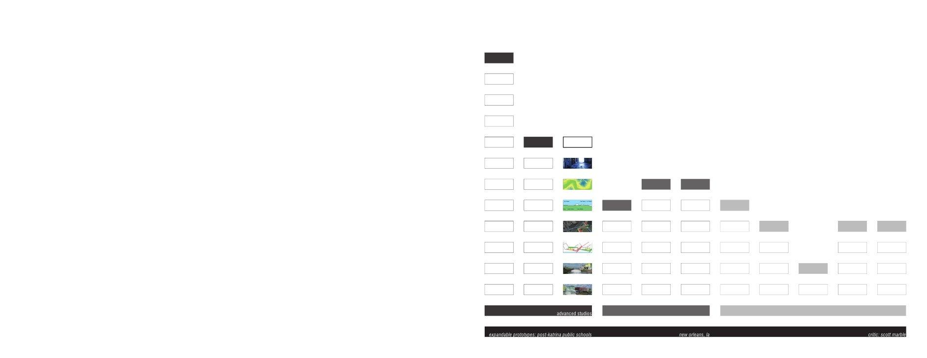 advanced studios    expandable prototypes: post-katrina public schools   new orleans, la   critic: scott marble