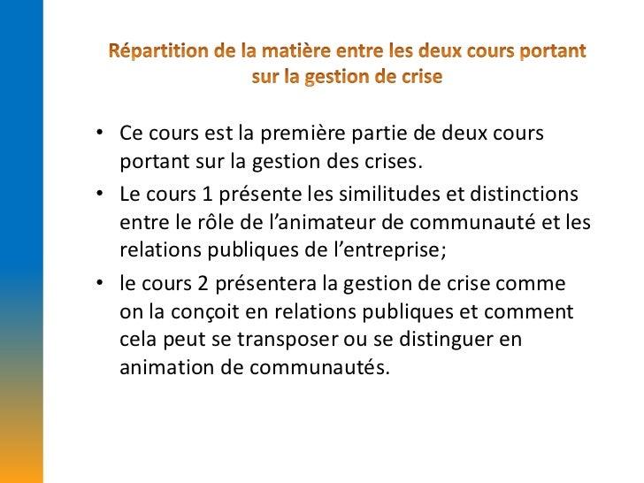 Le rôle du gestionnaire de communauté dans la fonction communication de l'entreprise Slide 3