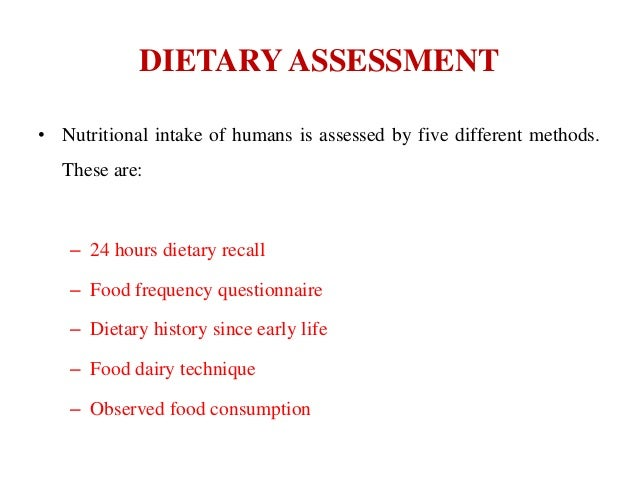 24 hour diet recall summary English term or phrase: 24-hour diet recall hi can anyone help with this one i am translating a medical article on obesity, and this expression is used several times.