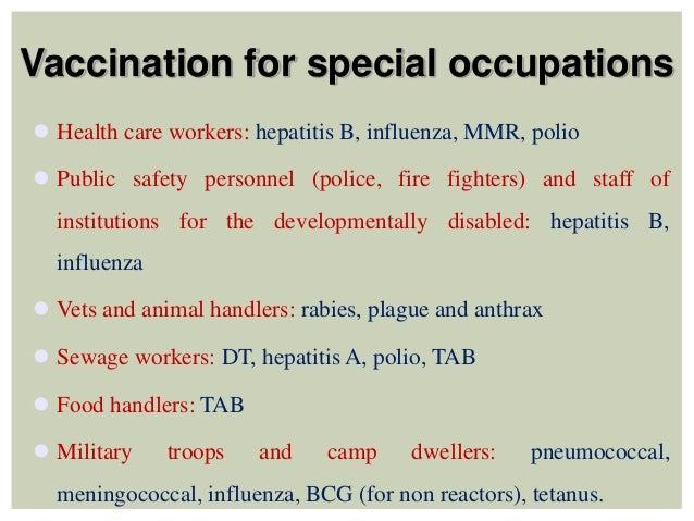 Vaccination Programmes