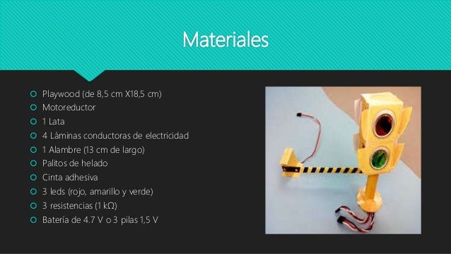 semaforo casero presentacion