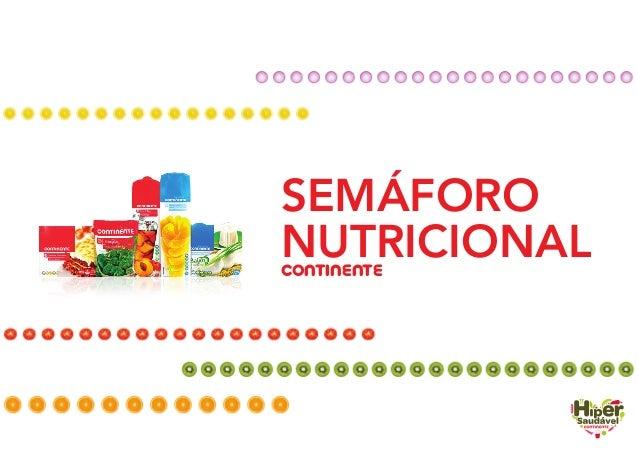 SEMÁFORO NUTRICIONALCONTINENTE