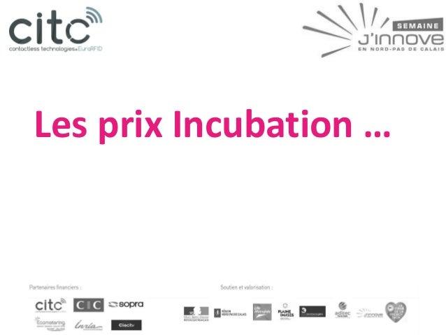 Semaine de l'Innovation NpdC #MOC 2014 - REMISE DES PRIX - Winners are .....