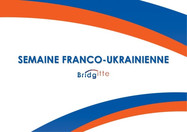SEMAINE FRANCO-UKRAINIENNE