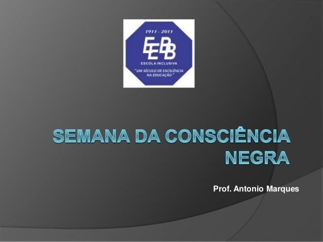 Prof. Antonio Marques