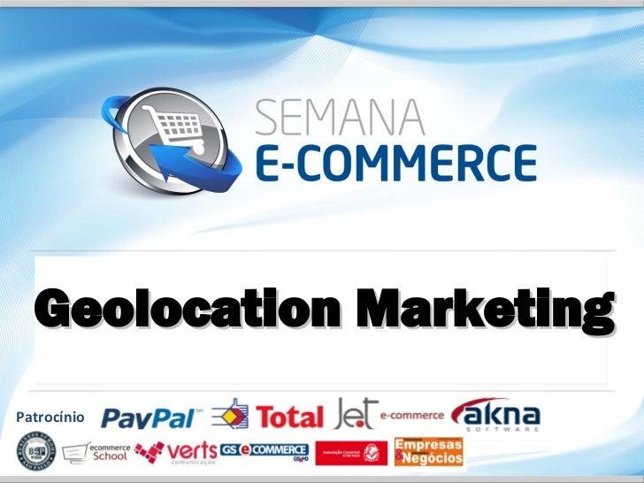 Geolocation MarketingPatrocínio