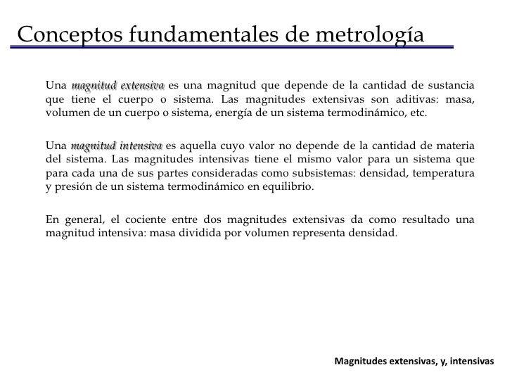 Generalidades<br /><ul><li>Conceptos fundamentales de metrología</li></li></ul><li>Conceptos fundamentales de metrología<b...