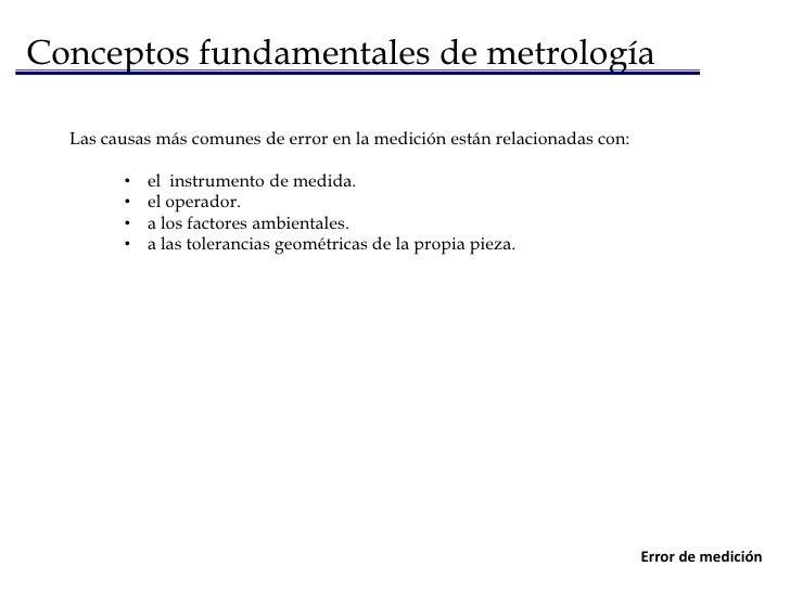 Conceptos fundamentales de metrología<br />Un sistema de unidadeses un conjunto consistente de unidades para la métrica de...
