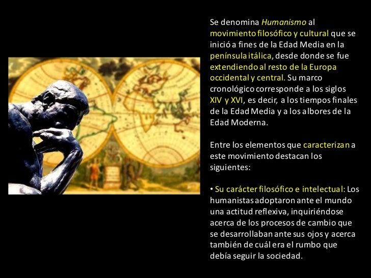 HUMANISMO Slide 3