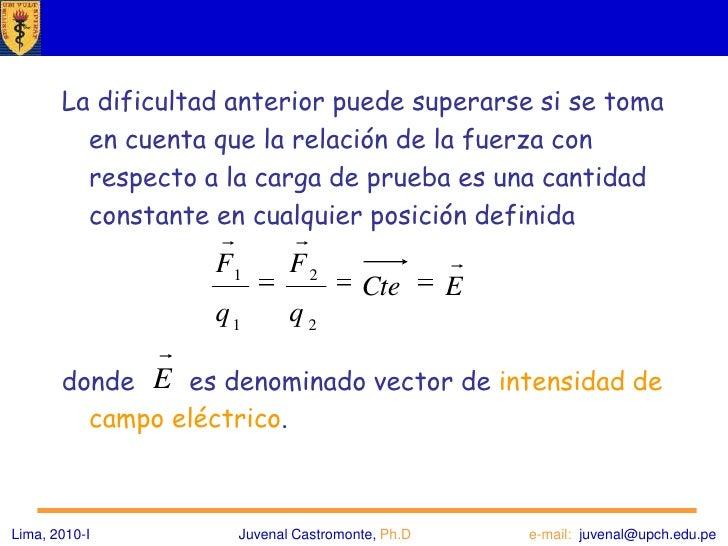 Introducción<br /><ul><li>En principio es posible describir la interacción de todo tipo de cargas a través de la fórmula d...
