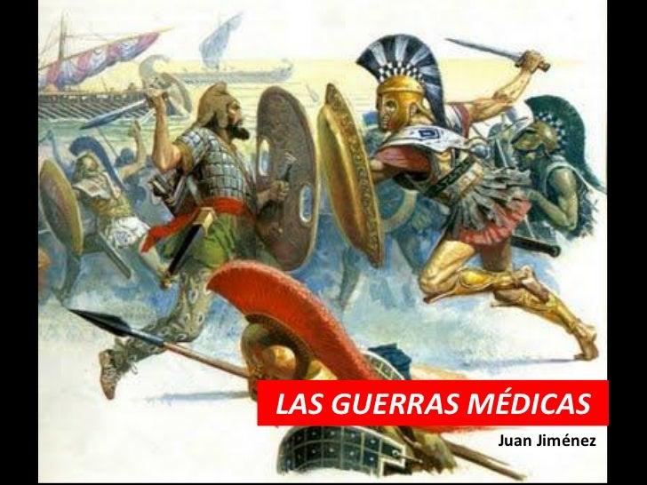 LAS GUERRAS MÉDICAS             Juan Jiménez