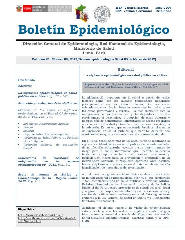 ISSN Versión impresa             1563-2709                                                                         ISSN Ve...