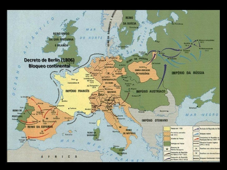 Decreto de Berlín (1806)  Bloqueo continental