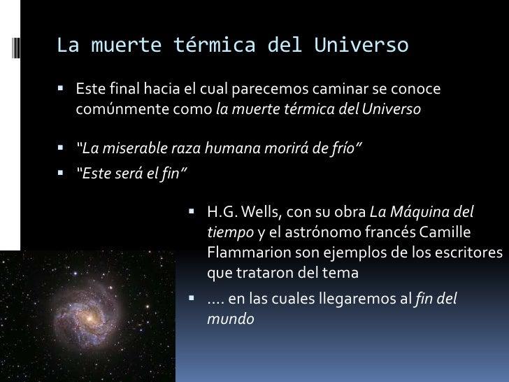Resultado de imagen de Resultado de imagen de La muerte térmica del Universo