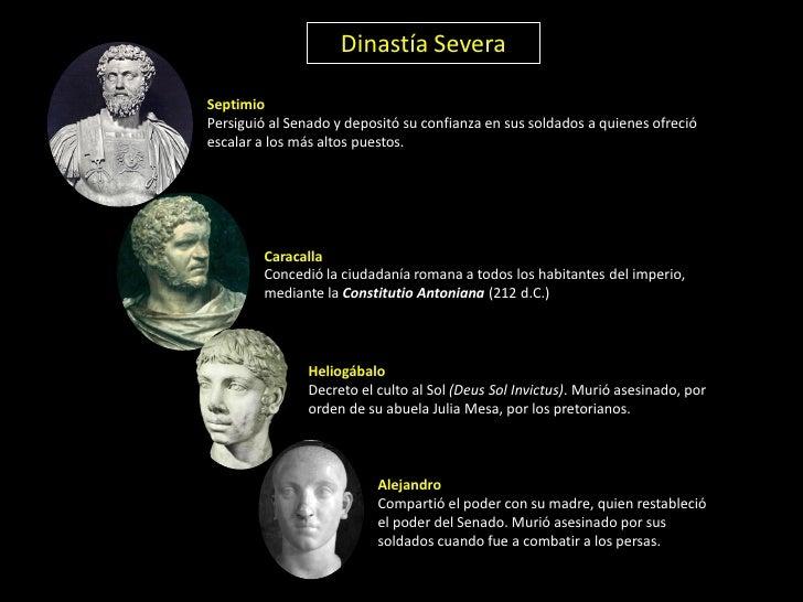 DE LA CRISIS DE LA REPÚBLICA A LA CAÍDA DE ROMA