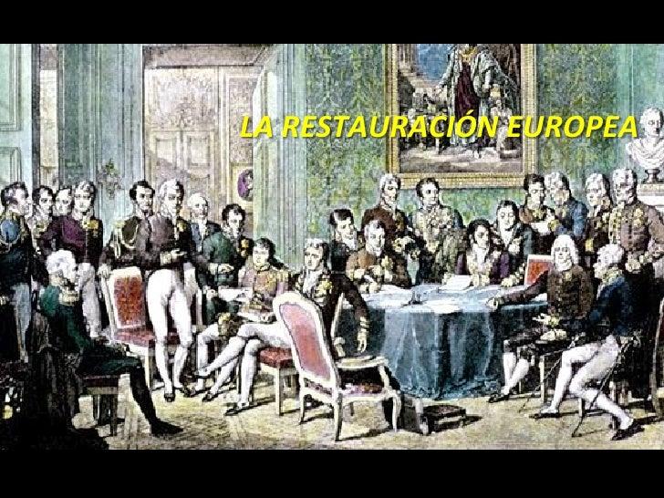 RESTAURACIÓN EUROPEA