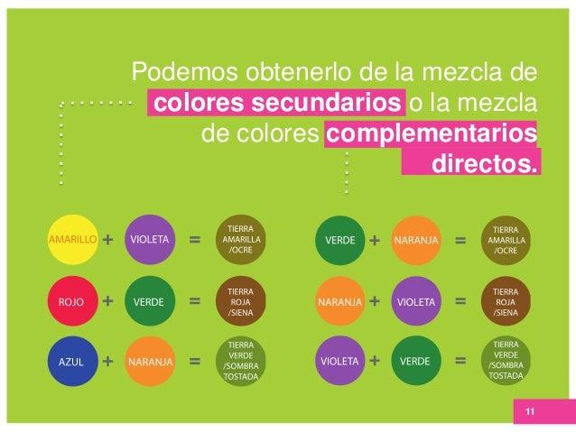 Semana 8 triadas y colores tierra