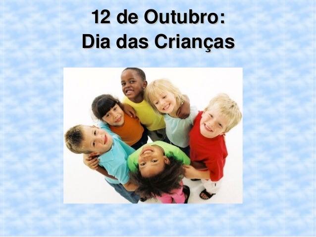 12deOutubro: DiadasCrianças