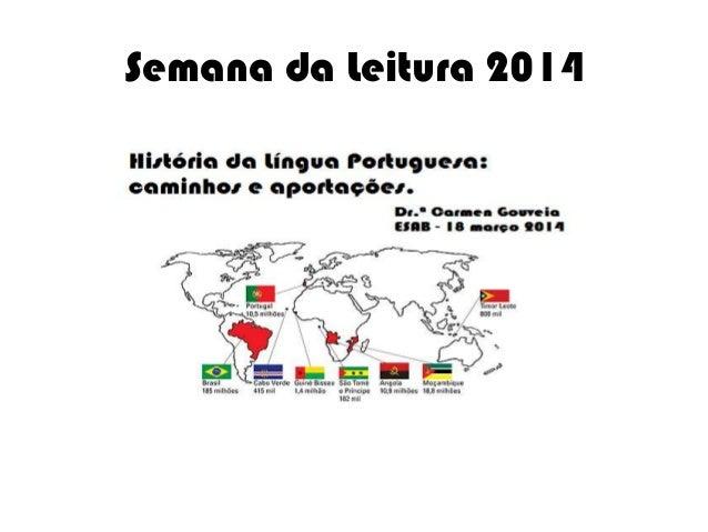 Semana da Leitura 2014