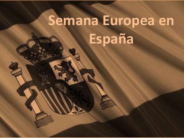 Semana Europea en España