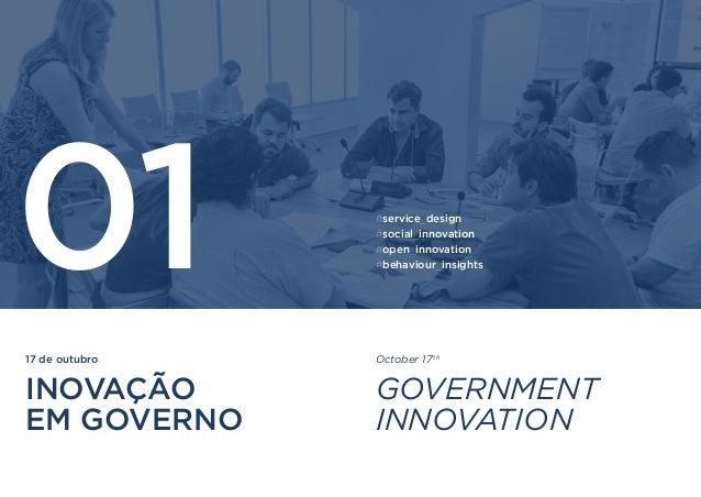 17 de outubro INOVAÇÃO EM GOVERNO 01 October 17th GOVERNMENT INNOVATION #service_design #social_innovation #open_innovatio...