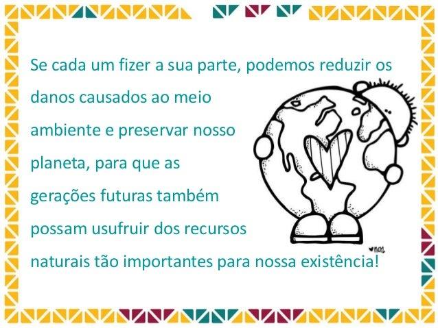 Dicas para preserva o do meio ambiente for Mural sobre o meio ambiente