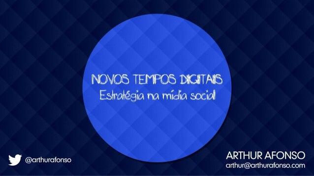 Novos Tempos Digitais - Semana Nacional de Tecnologia e Inovação - SEBRAE SC - Out/2013