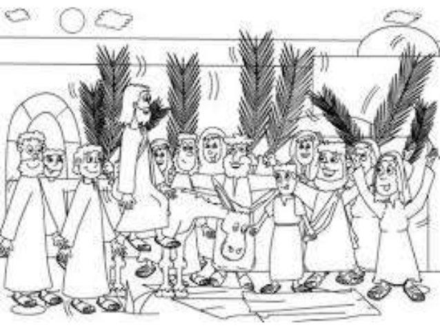 Dibujos Para Colorear Para Ninos De Semana Santa: Dibujos Para Niños