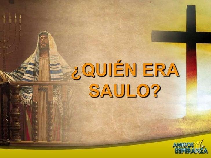 Semana Santa Tema 8 Pablo Y Jesus