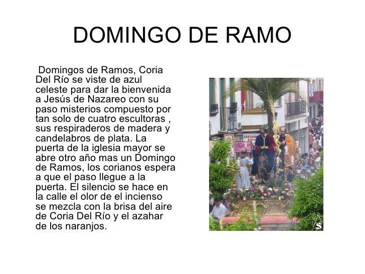 Semana Santa Coria Del RíO Slide 2