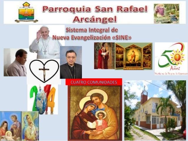 Semana santa en la parroquia san rafael arcángel