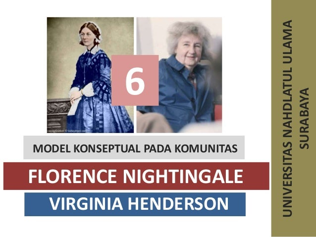 virginia henderson theory compared to florence nightingale Virginia henderson -the nature of nursing the unique function of the nurse is to assist the individual, sick or well, in the performance of those activities contributing to health or its recovery (or to peaceful death) that he would perform unaided if he had the necessary strength, will, or knowledge.