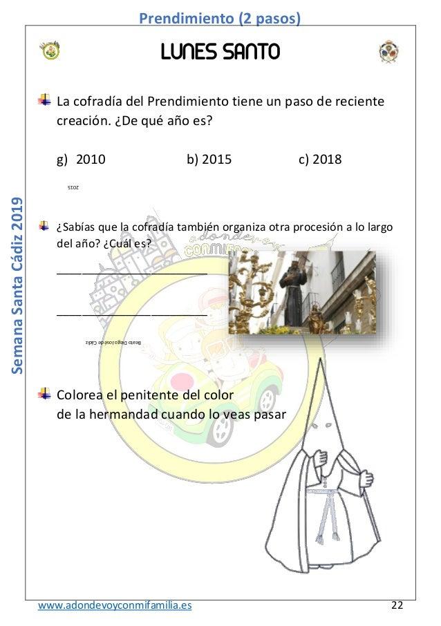 Semana Santa Cádiz 2019 A Dónde Voy Con Mi Familia Marzo 2019