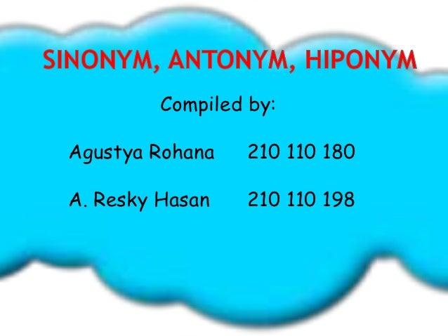 Compiled by:Agustya Rohana   210 110 180A. Resky Hasan   210 110 198