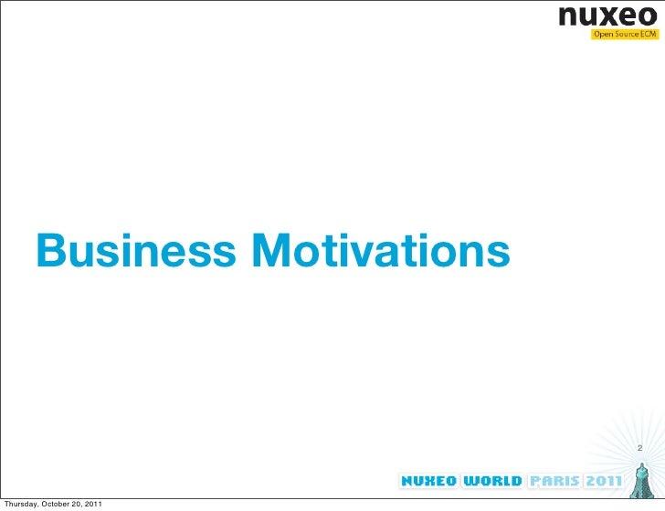 ECM Meets the Semantic Web - Nuxeo World 2011 Slide 2