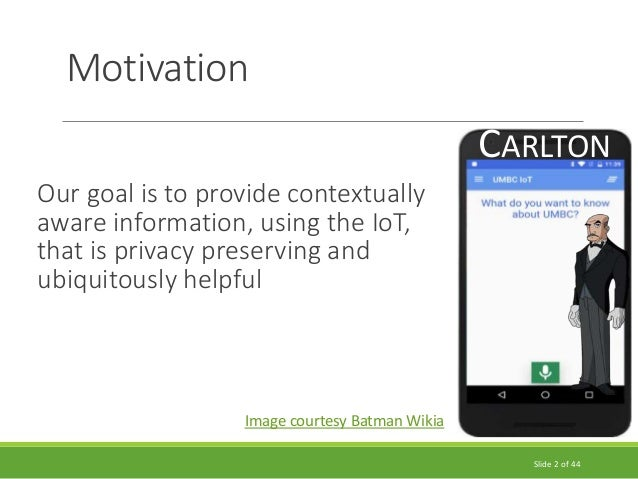 Semantic Knowledge and Privacy in  the Physical Web Slide 2