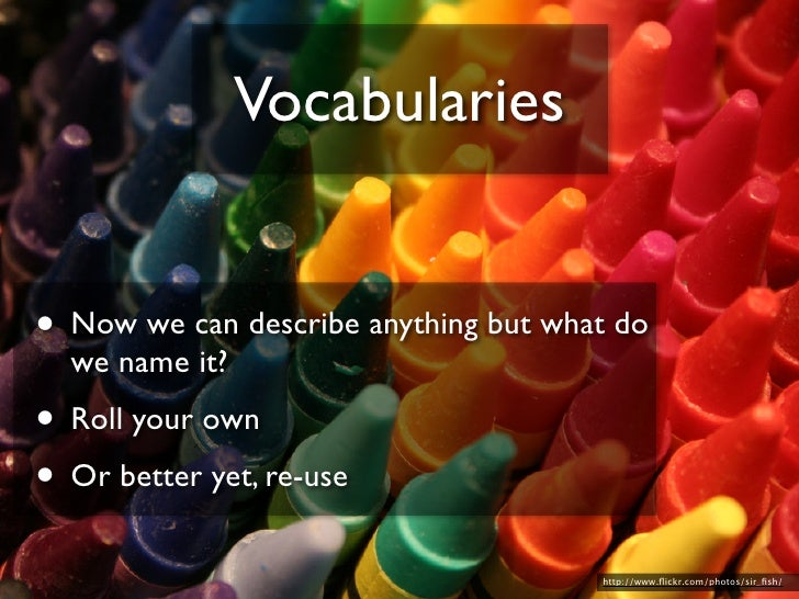 Ontologies  • Umbrella Ontologies help create strong   and weak ties                                            http://www...