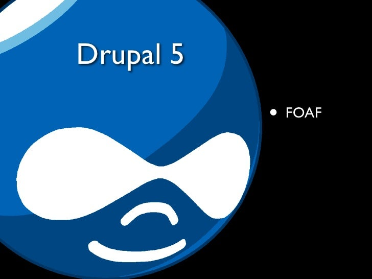 The trouble with Drupal 5                        http://www.flickr.com/people/davidsethp/