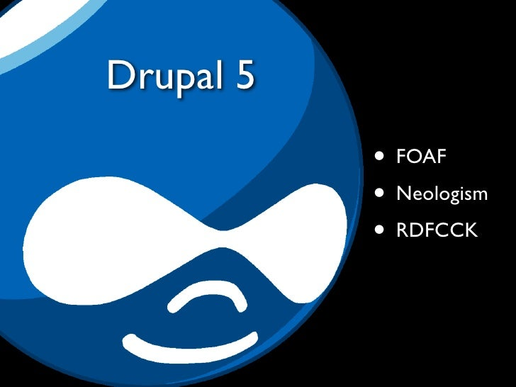 The trouble with Drupal 5    • It's not 6  • Weird to-and-fro, confusion                                     http://www.fli...