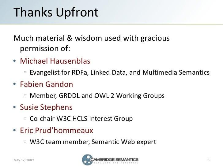 Semantic Web Landscape 2009 Slide 3