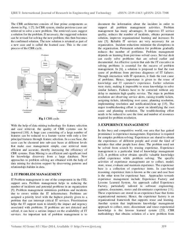 reasoning problem cbr case-based systems case approaches research solving papers This paper addresses the fulfillment of requirements related to case-based reasoning (cbr) processes for system design considering that cbr processes are well suited for problem solving, the proposed method concerns the definition of an integrated cbr process in line with system engineering principles.