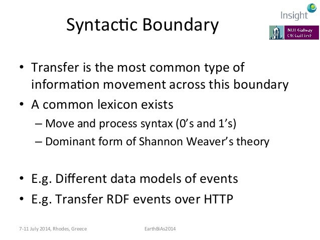 SemanKc  Boundary   • Common  lexicon  doesn't  exist   • Lexicon  evolve   • AmbiguiKes  exist   •...