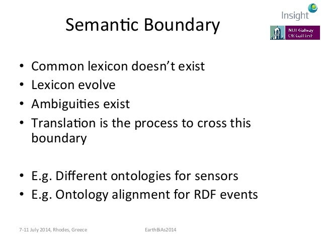 PragmaKc  Boundary   • Actors  on  the  sides  of  the  boundary  have:   – Different  contexts  ...