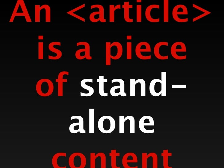 <articles>can contain<sections>