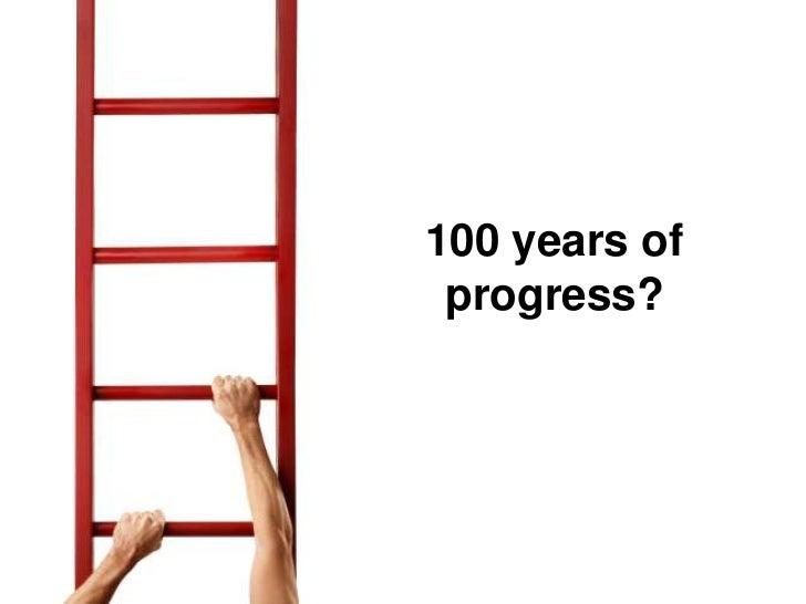 100 years of  progress?